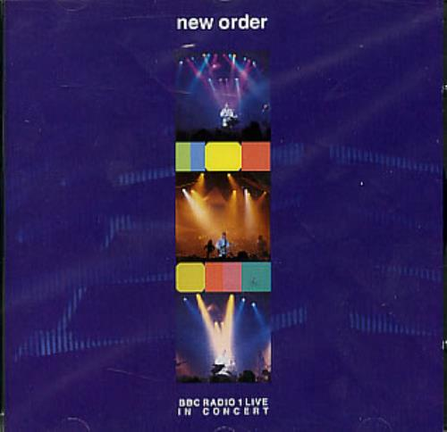 New Order BBC Radio 1 Live In Concert CD album (CDLP) UK NEWCDBB301338