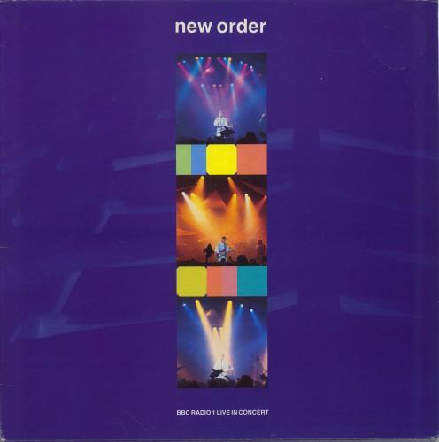 New Order BBC Radio 1 Live In Concert vinyl LP album (LP record) UK NEWLPBB678822