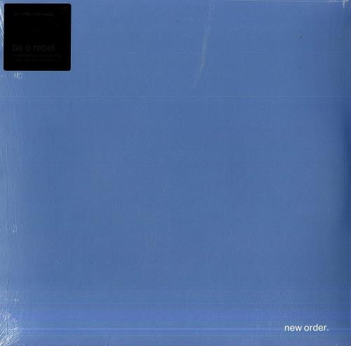 "New Order Be A Rebel - Dove Grey Vinyl - Sealed 12"" vinyl single (12 inch record / Maxi-single) UK NEW12BE756417"