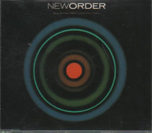 "New Order Blue Monday - CD-Video CD single (CD5 / 5"") UK NEWC5BL79395"