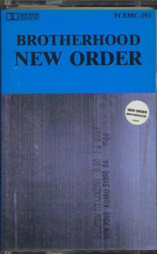 New Order Brotherhood cassette album New Zealand NEWCLBR770003