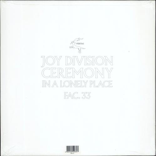 """New Order Ceremony / In A Lonely Place 12"""" vinyl single (12 inch record / Maxi-single) UK NEW12CE619601"""