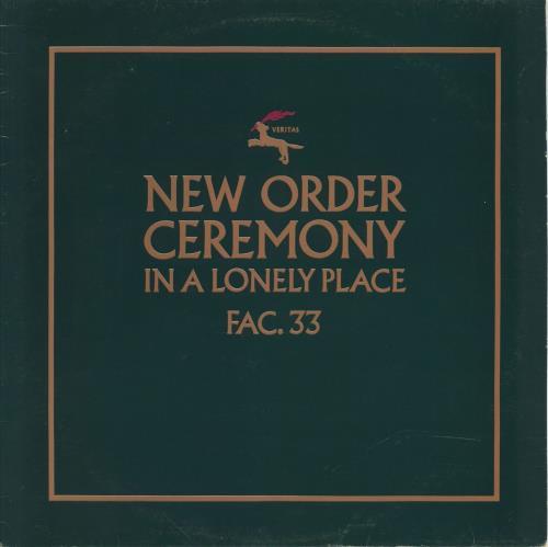 "New Order Ceremony - 1st - EX 12"" vinyl single (12 inch record / Maxi-single) UK NEW12CE213126"