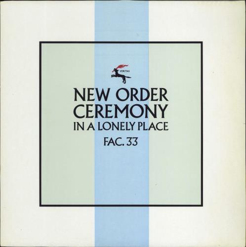 "New Order Ceremony - 2nd 12"" vinyl single (12 inch record / Maxi-single) UK NEW12CE14706"