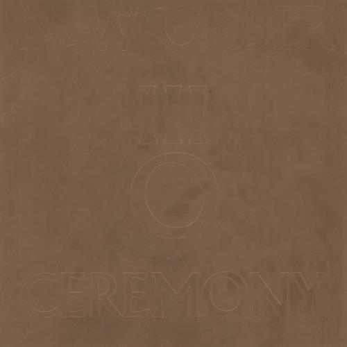 "New Order Ceremony - VG 7"" vinyl single (7 inch record) UK NEW07CE635810"