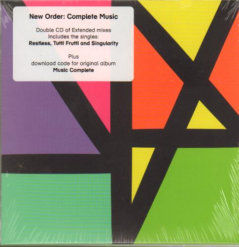 New Order Complete Music - Sealed 2 CD album set (Double CD) UK NEW2CCO653419