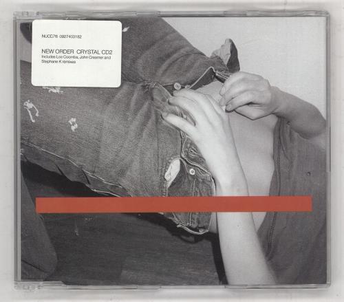 New Order Crystal 2-CD single set (Double CD single) UK NEW2SCR192641