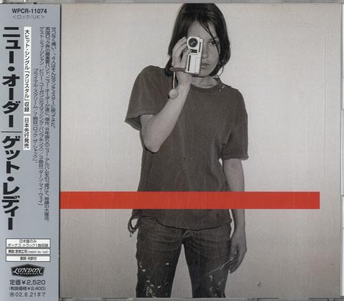 New Order Get Ready CD album (CDLP) Japanese NEWCDGE234068
