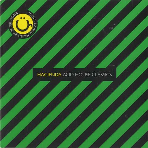 New Order Hacienda Acid House Classics Us Promo 2 Cd Album Set Double Cd 486654