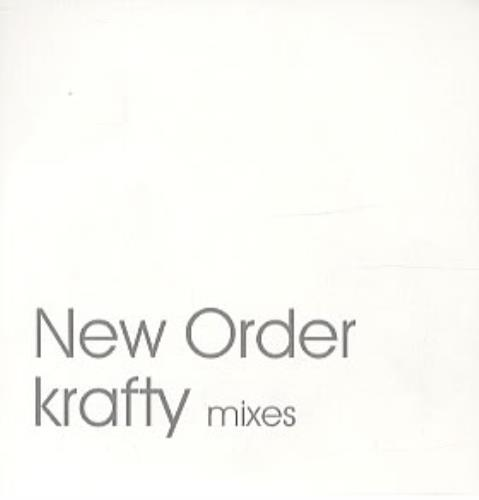 "New Order Krafty - Mixes CD single (CD5 / 5"") UK NEWC5KR318365"