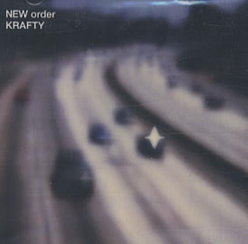 "New Order Krafty CD single (CD5 / 5"") US NEWC5KR324407"