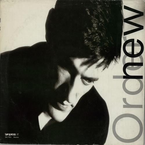 New Order Low-Life + Insert vinyl LP album (LP record) Polish NEWLPLO575193