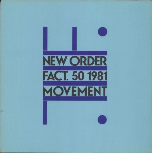 New Order Movement + Inner vinyl LP album (LP record) UK NEWLPMO120796