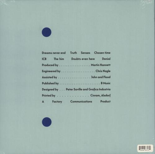 New Order Movement - Remastered - Sealed vinyl LP album (LP record) UK NEWLPMO749585