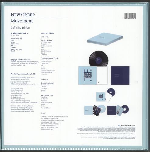 New Order Movement - Sealed box set UK NEWBXMO726095