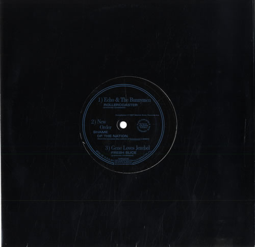 "New Order North American Tour 1987 - 10"" Flexi 10"" vinyl single (10"" record) US NEW10NO50856"