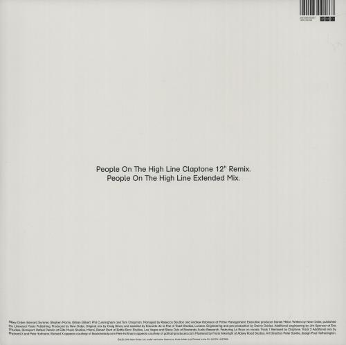 """New Order People On The High Line - White vinyl - Sealed/Stickered 12"""" vinyl single (12 inch record / Maxi-single) UK NEW12PE664836"""