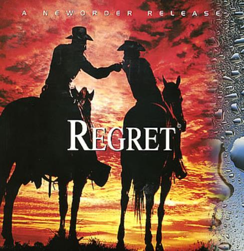 "New Order Regret 12"" vinyl single (12 inch record / Maxi-single) UK NEW12RE16784"