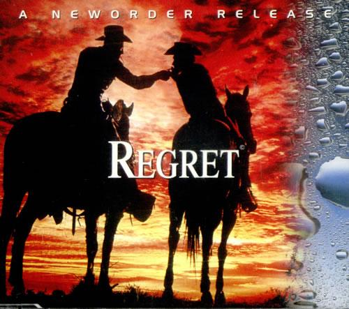 "New Order Regret CD single (CD5 / 5"") UK NEWC5RE36033"