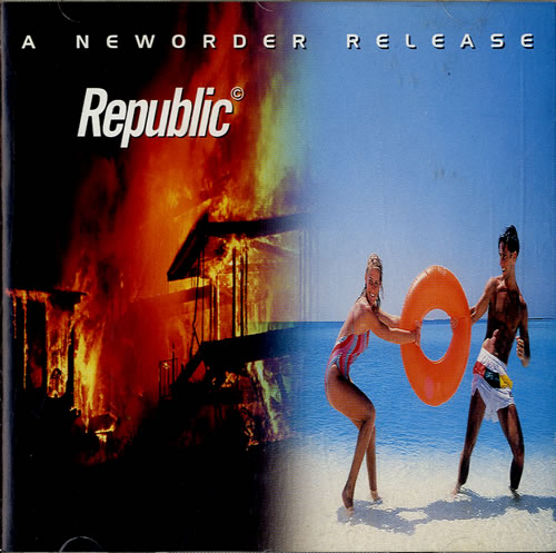 New Order Republic CD album (CDLP) German NEWCDRE599067