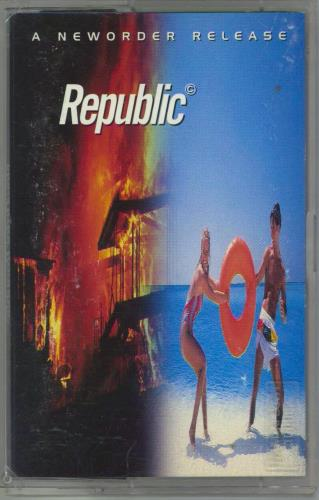 New Order Republic cassette album Turkish NEWCLRE770009