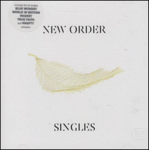 New Order Singles 2 CD album set (Double CD) UK NEW2CSI337408
