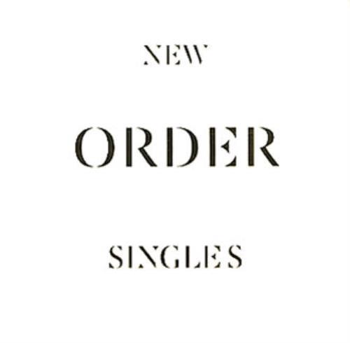New Order Singles CD-R acetate UK NEWCRSI338949