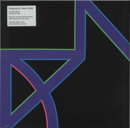 "New Order Singularity - Purple vinyl 12"" vinyl single (12 inch record / Maxi-single) Japanese NEW12SI666905"