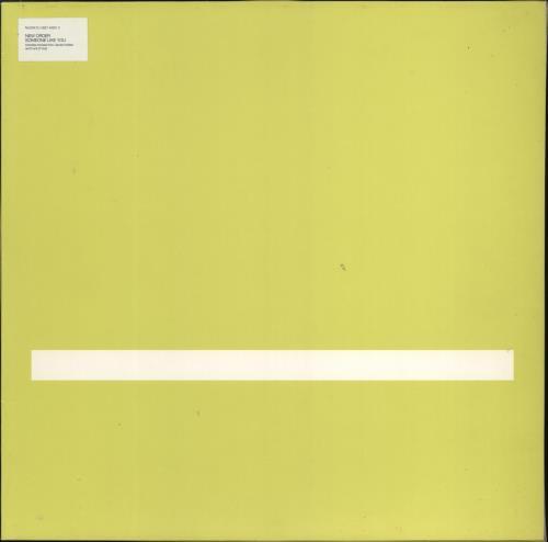 "New Order Someone Like You 12"" vinyl single (12 inch record / Maxi-single) German NEW12SO772582"