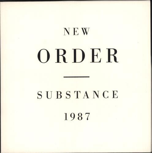 New Order Substance - 1st 2-LP vinyl record set (Double Album) UK NEW2LSU102374