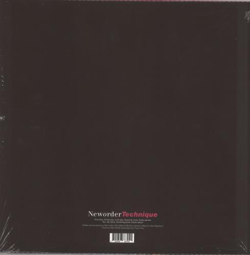 New Order Technique - Remastered - Sealed vinyl LP album (LP record) UK NEWLPTE741357