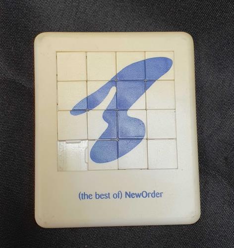 New Order The Best Of New Order memorabilia UK NEWMMTH37514