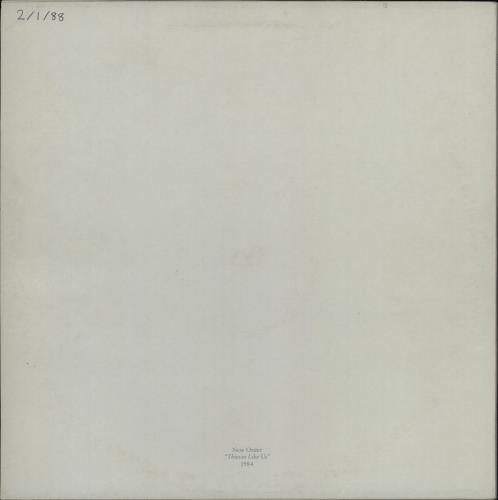 """New Order Thieves Like Us - WOS 12"""" vinyl single (12 inch record / Maxi-single) UK NEW12TH763758"""