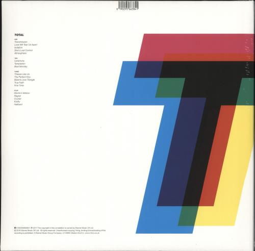 New Order Total: From Joy Division To New Order - Sealed 2-LP vinyl record set (Double Album) UK NEW2LTO709140