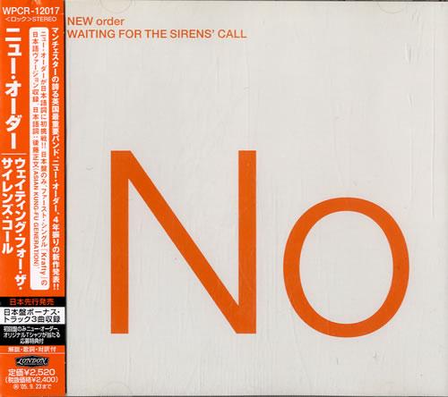 New Order Waiting For The Siren's Call CD album (CDLP) Japanese NEWCDWA327558