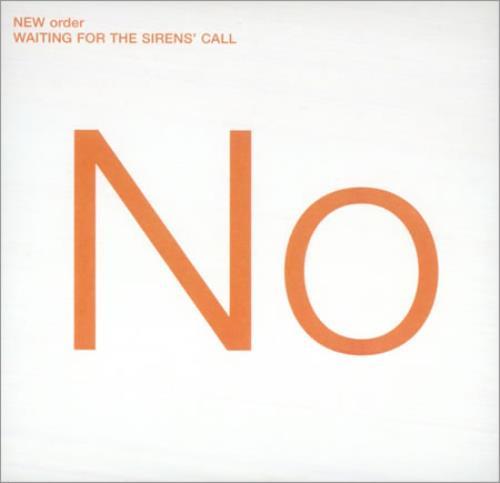 New Order Waiting For The Sirens' Call CD album (CDLP) UK NEWCDWA427263
