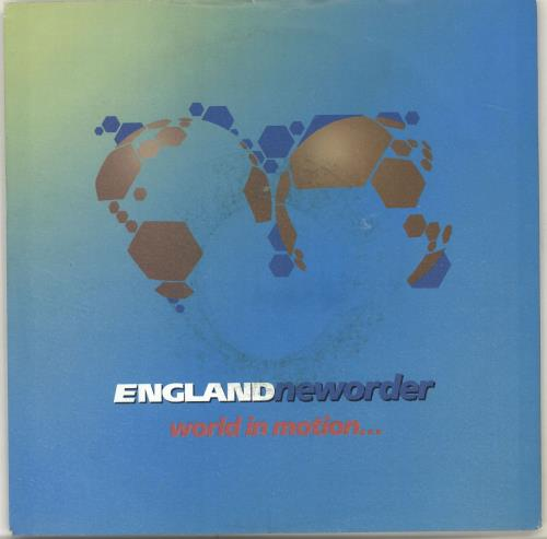 """New Order World In Motion - Injection + Sleeve 7"""" vinyl single (7 inch record) UK NEW07WO156572"""