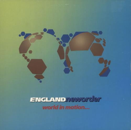"""New Order World In Motion 12"""" vinyl single (12 inch record / Maxi-single) UK NEW12WO17787"""