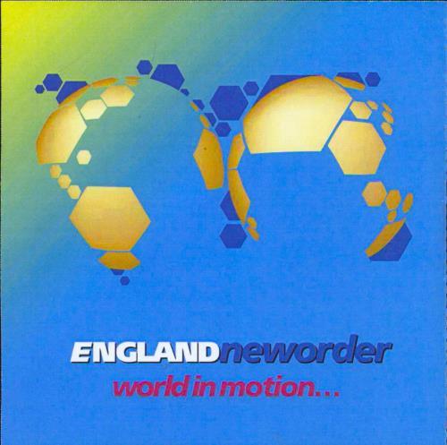 New Order World In Motion CD-R acetate UK NEWCRWO215755
