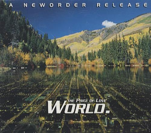 "New Order World The Price Of Love CD single (CD5 / 5"") UK NEWC5WO158936"