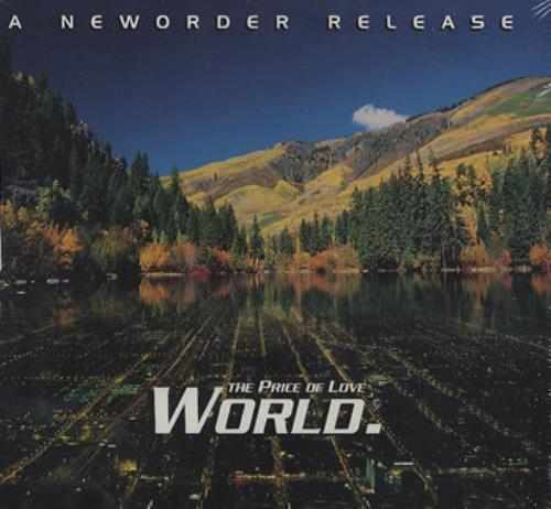 "New Order World CD single (CD5 / 5"") US NEWC5WO20051"