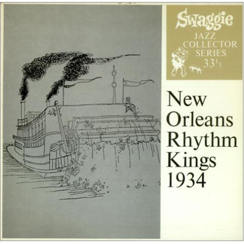 "New Orleans Rhythm Kings 1934 EP 7"" vinyl single (7 inch record) Australian NOK07EP423420"