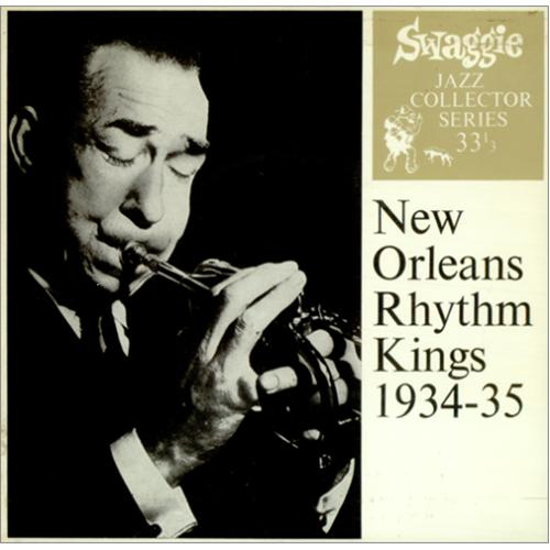 "New Orleans Rhythm Kings 1934-35 EP 7"" vinyl single (7 inch record) Australian NOK07EP423421"