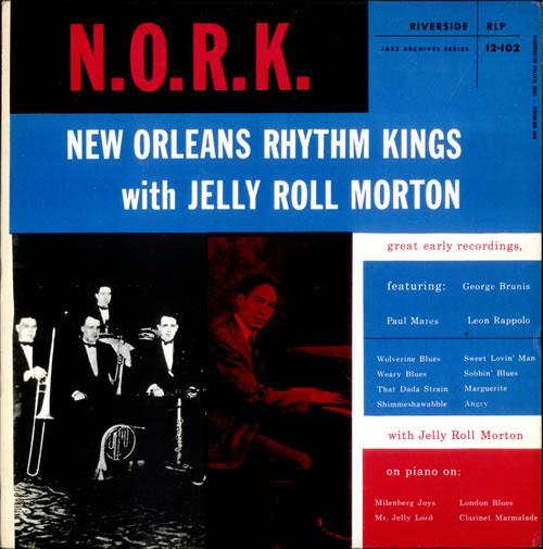 New Orleans Rhythm Kings N.O.R.K. vinyl LP album (LP record) UK NOKLPNE527931