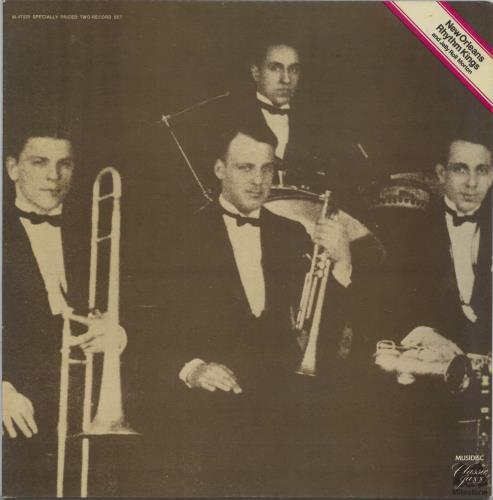 New Orleans Rhythm Kings New Orleans Rhythm Kings 2-LP vinyl record set (Double Album) French NOK2LNE585301