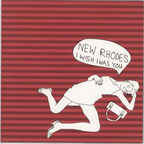 """New Rhodes I Wish I Was You - Numbered 7"""" vinyl single (7 inch record) UK NAJ07IW387641"""