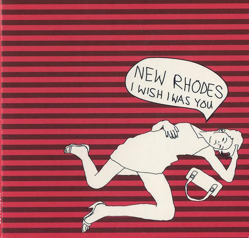 "New Rhodes I Wish I Was You CD single (CD5 / 5"") UK NAJC5IW475457"