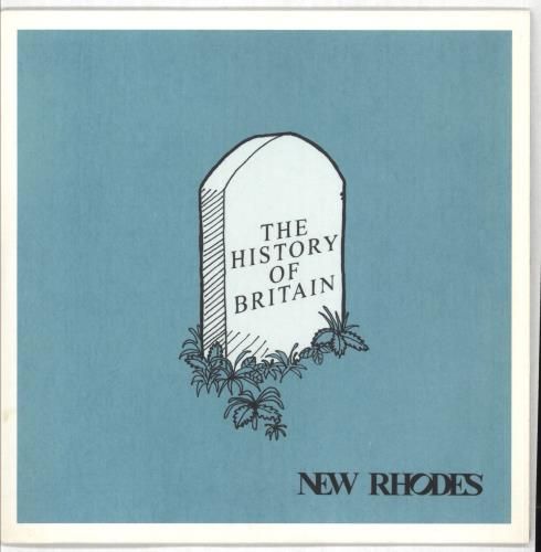 "New Rhodes The History Of Britain 7"" vinyl single (7 inch record) UK NAJ07TH717057"