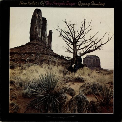 New Riders Of The Purple Sage Gypsy Cowboy - Graduated Label vinyl LP album (LP record) UK NRPLPGY702699