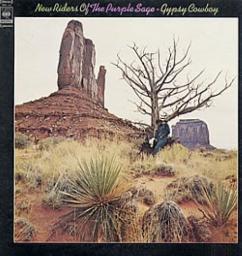 New Riders Of The Purple Sage Gypsy Cowboy vinyl LP album (LP record) Japanese NRPLPGY241785